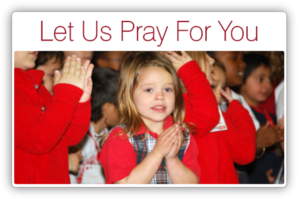 Let Us Pray For You - Sacred Heart Southern Missions