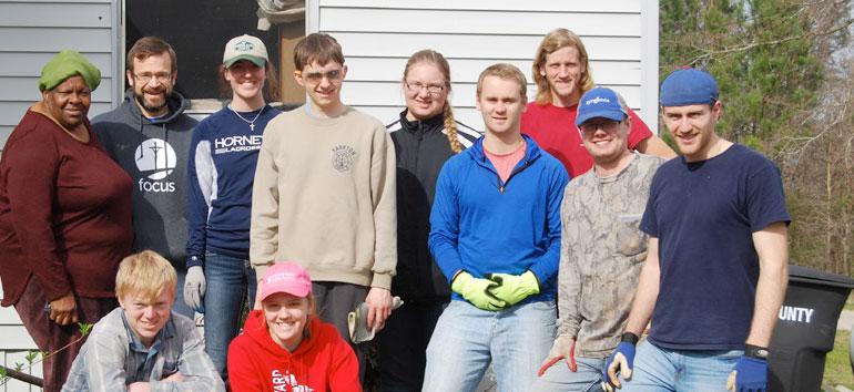 Sacred Heart Volunteers